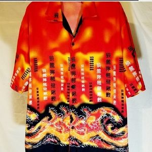 Fun Shirt With Japanese Print TD by Priority Male